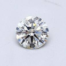 推薦鑽石 #4: 0.52  克拉圓形切割