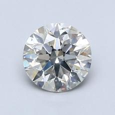 推荐宝石 4:1.09 克拉圆形切割