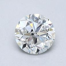 推荐宝石 4:1.01 克拉圆形切割