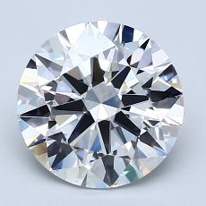 Recommended Stone #3: 2.50-Carat Round Cut