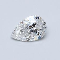 Recommended Stone #2: 0.50-Carat Pear Shaped