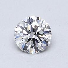 Recommended Stone #1: 0,71-Carat Round Cut
