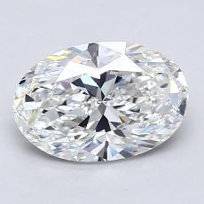 推薦鑽石 #4: 1.36  克拉橢圓形切割