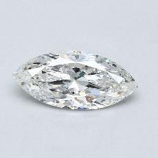 推薦鑽石 #4: 1.03 克拉欖尖形切割