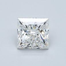 Current Stone: 1.00-Carat Princess Cut