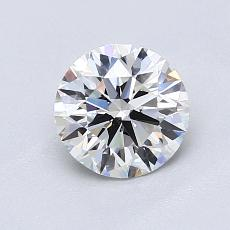 Piedra recomendada 4: Talla redonda de 1.00 quilates
