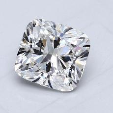推薦鑽石 #2: 1.10 克拉墊形切割