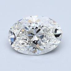 推薦鑽石 #4: 1.17  克拉橢圓形切割