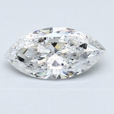 推薦鑽石 #3: 1.21 克拉欖尖形切割