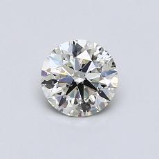 目前的寶石: 0.56  克拉圓形切割