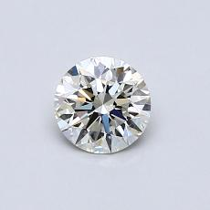 Recommended Stone #3: 0.50-Carat Round Cut