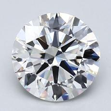 Recommended Stone #1: 2.50-Carat Round Cut