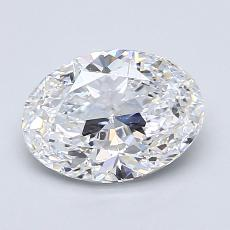 Recommended Stone #3: 1.50-Carat Oval Cut