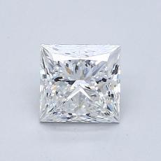 推荐宝石 4:1.01 克拉公主方型切割