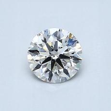 推荐宝石 2:0.60 克拉圆形切割