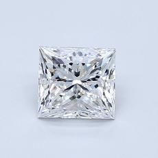 Recommended Stone #3: 0.91-Carat Princess Cut