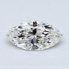 Recommended Stone #1: 0.50-Carat Marquise Cut