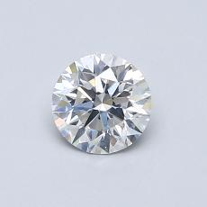 Recommended Stone #1: 0.56-Carat Round Cut