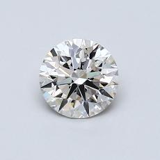 推荐宝石 1:0.61 克拉圆形切割