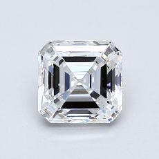 推薦鑽石 #2: 0.90 克拉上丁方形切割