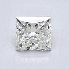 Recommended Stone #4: 0,90-Carat Princess Cut