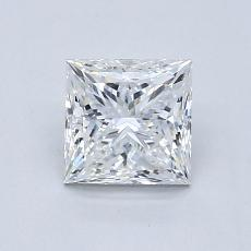 Recommended Stone #2: 1.07-Carat Princess Cut