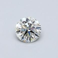推荐宝石 2:0.46 克拉圆形切割