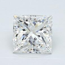 Recommended Stone #3: 2.50-Carat Princess Cut