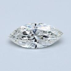 推荐宝石 3:0.50 克拉马眼形切割