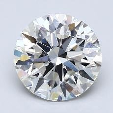 Recommended Stone #1: 2.30-Carat Round Cut