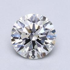 推荐宝石 3:1.07 克拉圆形切割