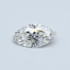 Recommended Stone #2: 0.32-Carat Marquise Cut