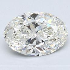 推薦鑽石 #2: 1.31  克拉橢圓形切割