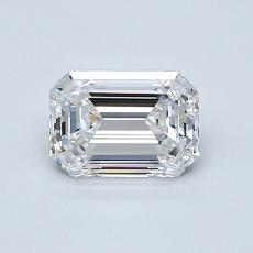 Recommended Stone #4: 0,85-Carat Emerald Cut