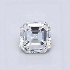 Recommended Stone #4: 0.70-Carat Asscher Cut Diamond