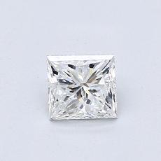 Recommended Stone #3: 0.63-Carat Princess Cut Diamond