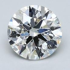 Recommended Stone #4: 2.24-Carat Round Cut Diamond
