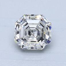 推荐宝石 4:1.00 克拉祖母绿切割钻石