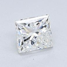 Recommended Stone #2: 1.09-Carat Princess Cut