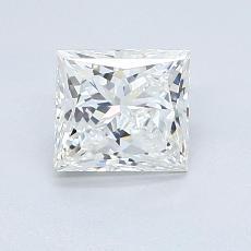 目标宝石:1.05 克拉公主方形钻石