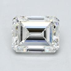 Recommended Stone #4: 1.40-Carat Emerald Cut Diamond