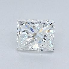 Recommended Stone #4: 1.04-Carat Princess Cut Diamond
