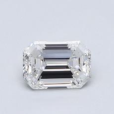 Recommended Stone #2: 0.73-Carat Emerald Cut Diamond