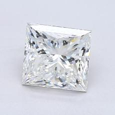 Recommended Stone #4: 1,63-Carat Princess Cut Diamond