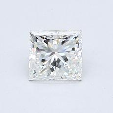 0,70-Carat Princess Diamond Good F VVS2