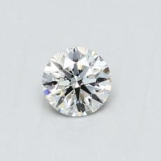 Recommended Stone #1: 0.38-Carat Round Cut Diamond
