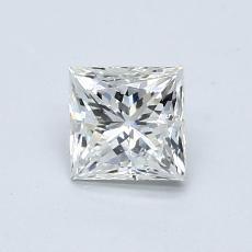 0.70-Carat Princess Diamond Good I SI2