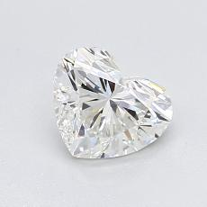 Recommended Stone #4: 0,90-Carat Heart Cut Diamond