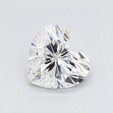 Recommended Stone #4: 0.90-Carat Heart Shaped