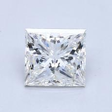 Recommended Stone #3: 1,13-Carat Princess Cut Diamond